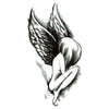 Angel temporary tattoo inkotattoo