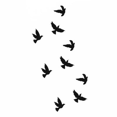 Birds Temporary tattoo inkotattoo