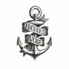Temporary Tattoo Anchor Old School