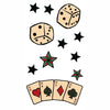 Temporary tattoo Old School Stars Cards