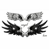 Temporary Tattoo Angel Wings