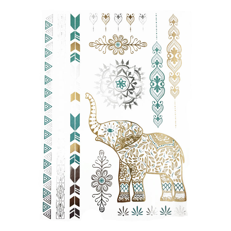 Metallic Indian Elephant