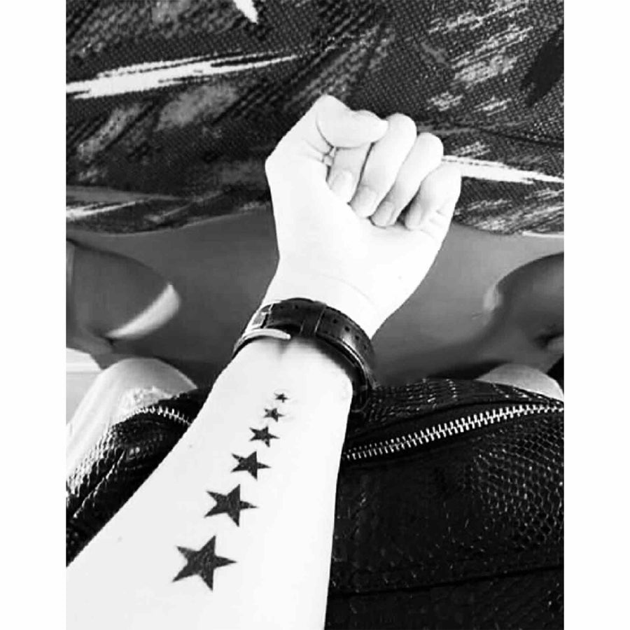 Temporary Tattoo Star