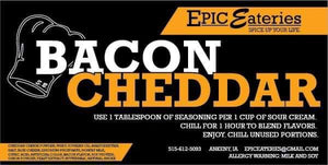 Epic Eateries Bacon Cheddar