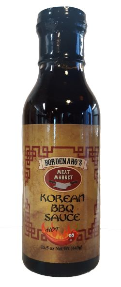 Bordenaro's Korean Spicy BBQ Sauce