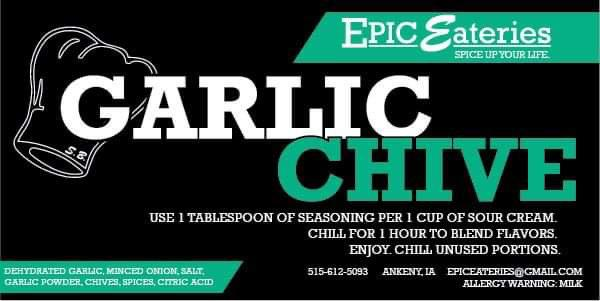 Epic Eateries Garlic Chive
