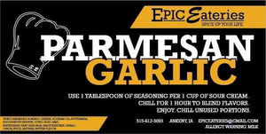 Epic Eateries Parmesan Garlic