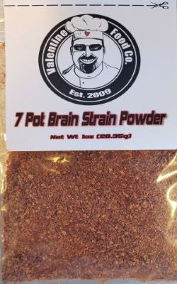 Valentine Food Company 7 Pot Brain Strain Pepper