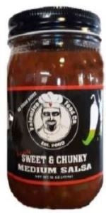 Valentine Food Company Sweet & Chunky Medium Salsa