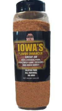 Mr. Rub Iowa's Flavor Enhancer Chef Jar 28.8 OZ