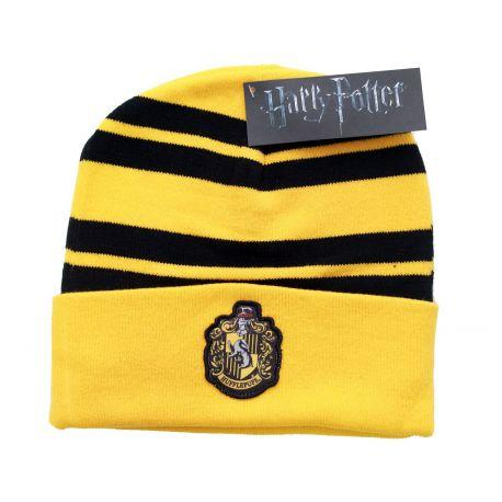 Bonnet Jaune Hufflepuff Logo Poufsouffle Harry Potter - Boutique Top Tendance