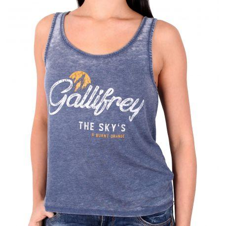 Débardeur Gallifrey Home - Doctor Who Femme - Boutique Top Tendance