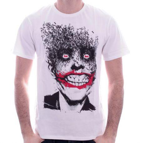 FDS Tshirt Joker Fly Batman DC Comics - Boutique Top Tendance