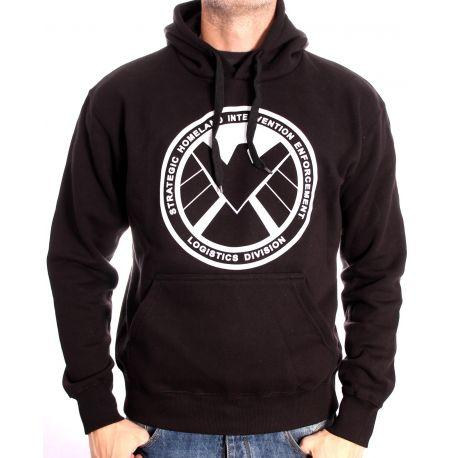 Sweat-shirt   Shield logo- Shield Marvel - - marvelfrance