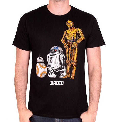 T-shirt Star Wars VIII - Astromech Droids - Boutique Top Tendance