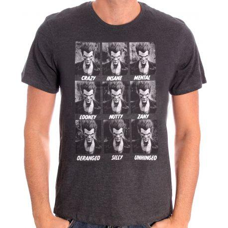 Tshirt Batman DC Comics - Joker Emotions - marvelfrance