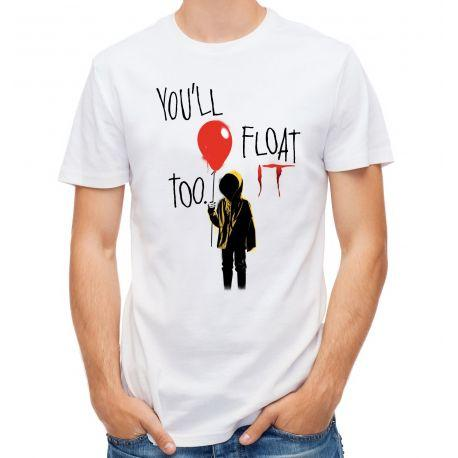 Tshirt ça Horreur It Pennywise - You'll Float too - marvelfrance