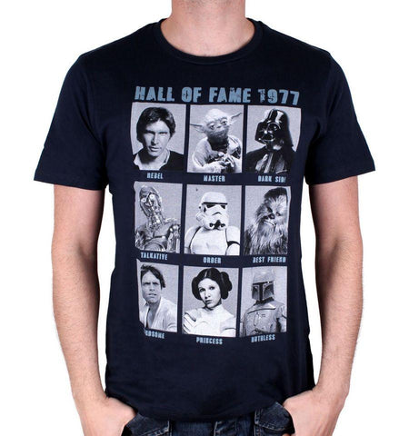 Tshirt Star Wars - Hall Of Fame 1977 - Boutique Top Tendance