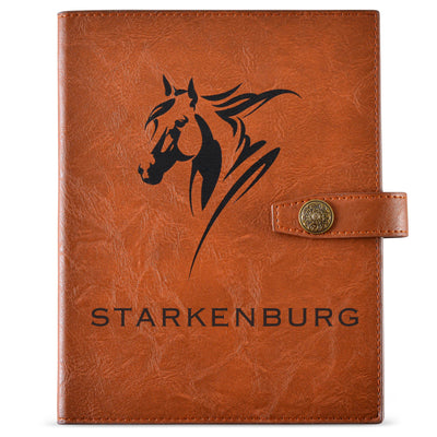 Personalized Horse Journal - The Complete Horse Enthusiast Journal to Track Everything About Your Horse - Starkenburg Company