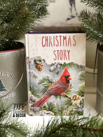 Christmas Story Book DIY