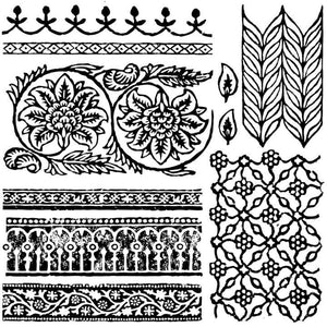 'Bohemia' IOD Decor Stamp (12″X12″)