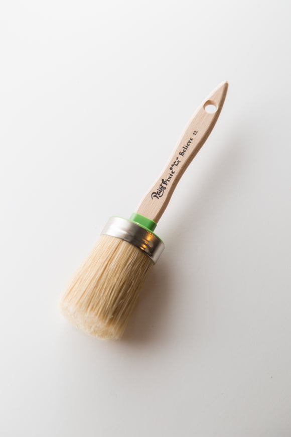 Paint Pixie Paint Brush natural brush for calk type paint