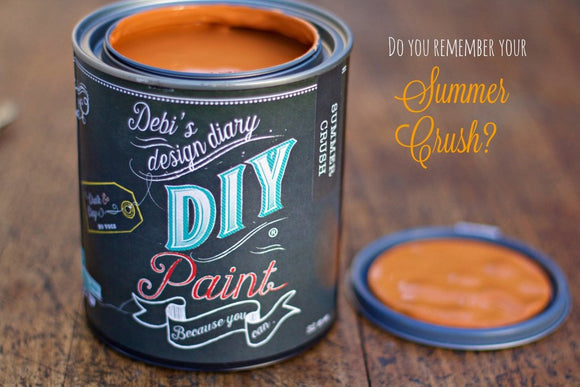 All natural clay paint with 5 times the pigment of other brands. Summer Crush is thick like a chalk type paint with great coverage