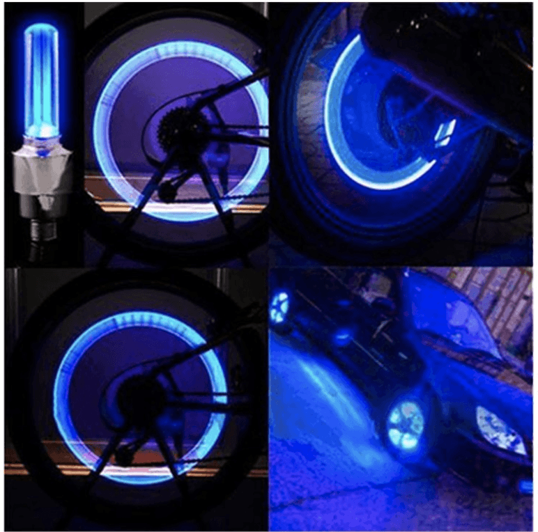 Motion Activated Wheel LED Lights(Pair)