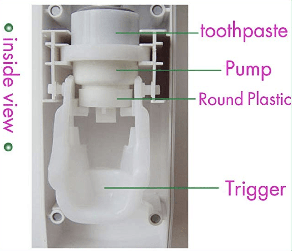Auto-Squeeze Toothpaste Dispenser(Set)