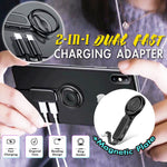 2-IN-1 Dual Fast Charging Adapter