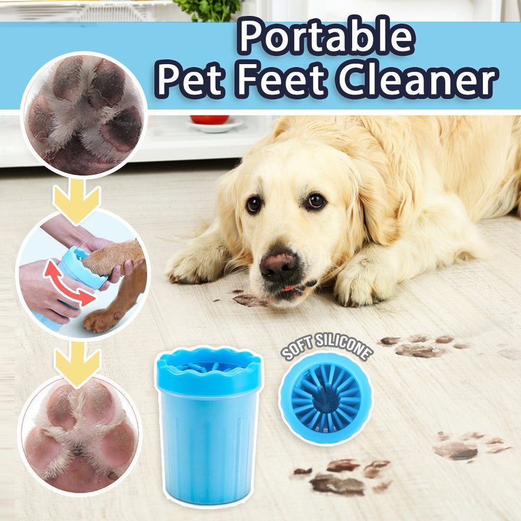 Portable Pet Feet Cleaner