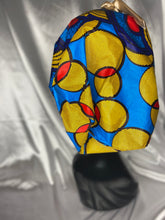 Load image into Gallery viewer, AFRICAN PRINT SATIN LINED BONNETS