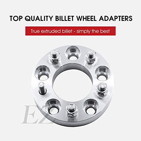 Billet Wheel Adapter 5x4.5 to 5x4.75 Thickness 1 Inch Pair