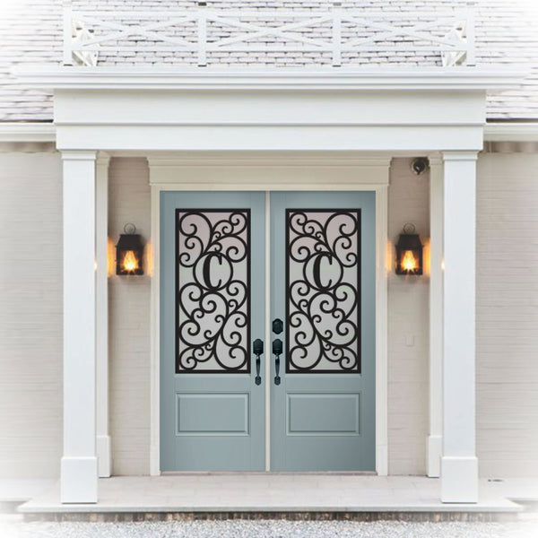 Stand out from the rest! Faux Wrought Iron (fake) wrought iron, Door Insert
