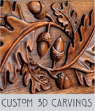 Wood Carving - Custom 3D carving service