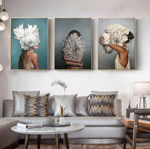 Fashion Models Canvas Wall Art