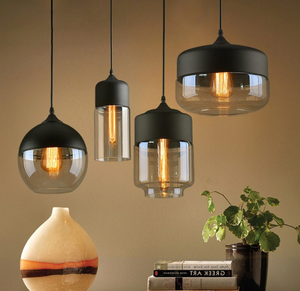 Nordic Smoky Glass Lamp