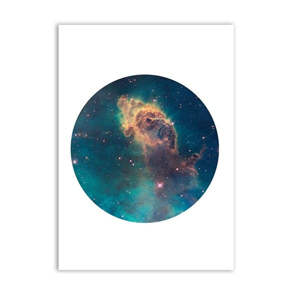 Space Lovers Canvas Wall Art