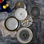 Premium™ - Set of 6 Japanese Style Plates