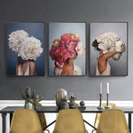 Beautiful Models Canvas Wall Art