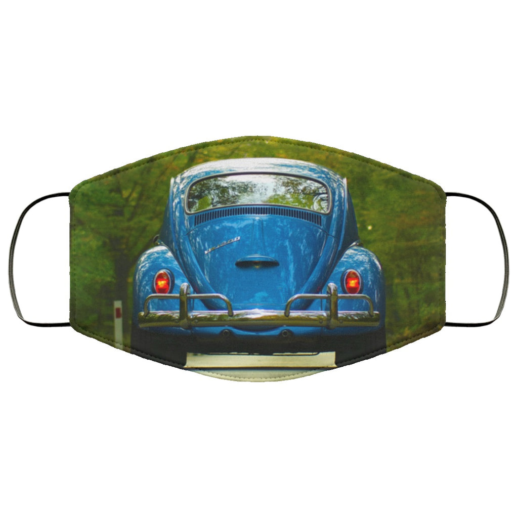 Classic VW Bug Face Mask