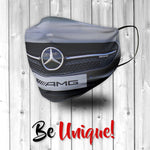 Mercedes Car Grill Face Mask