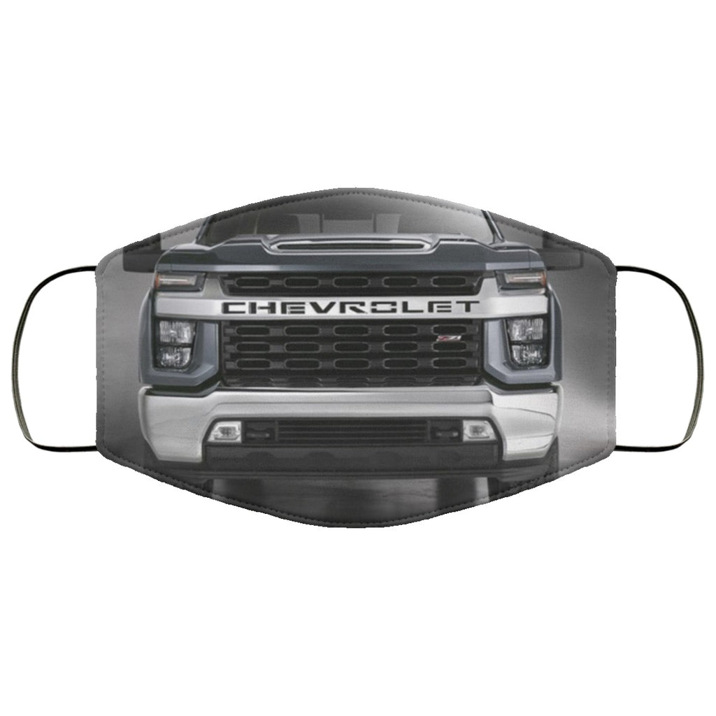 Chevy Silverado Grill Face Mask