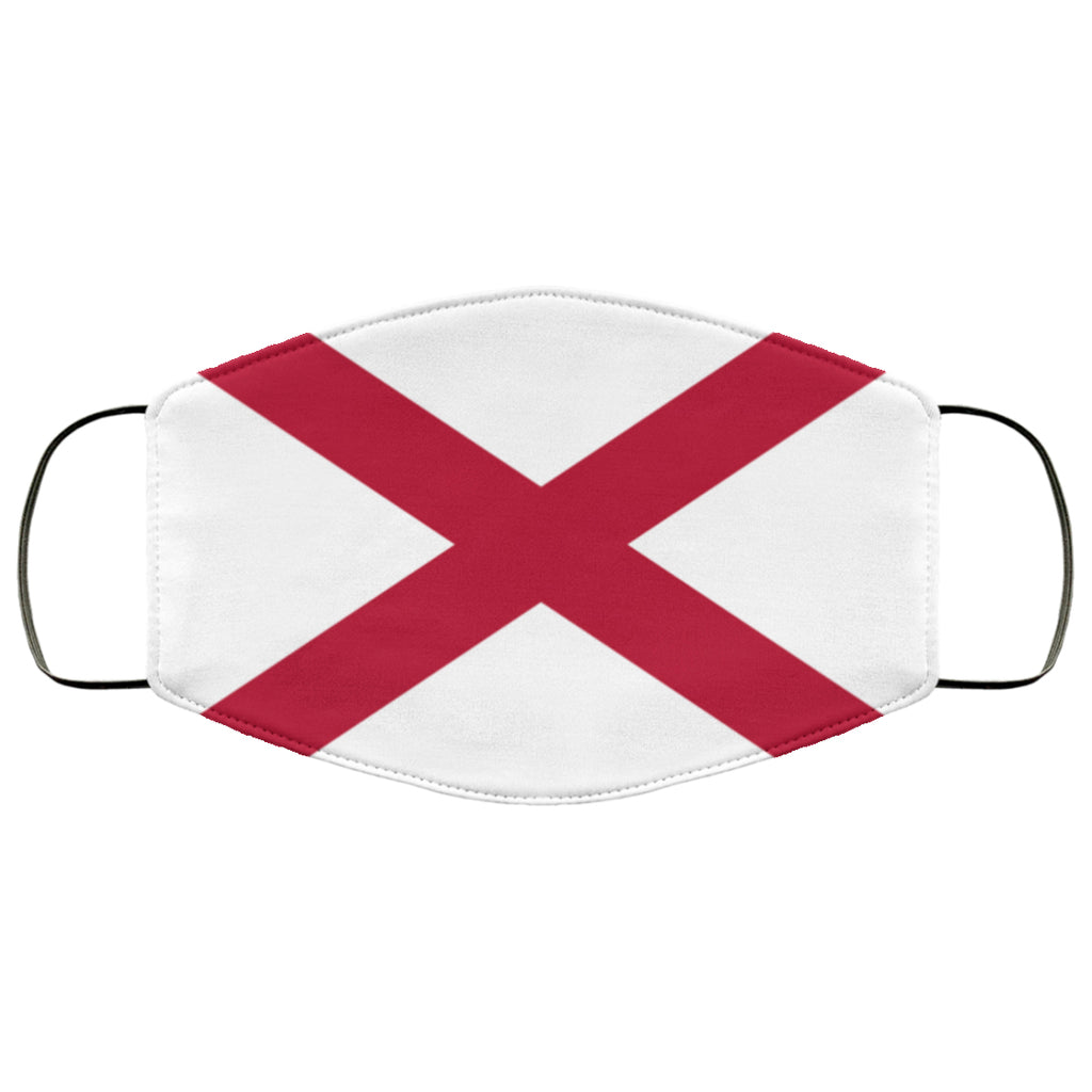 Alabama Flag USA Face Mask