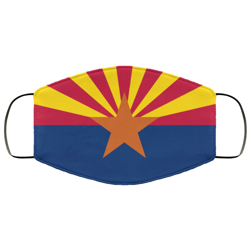 Arizona State Flag USA Face Mask