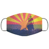Arizona State Flag USA - Horseman Face Mask