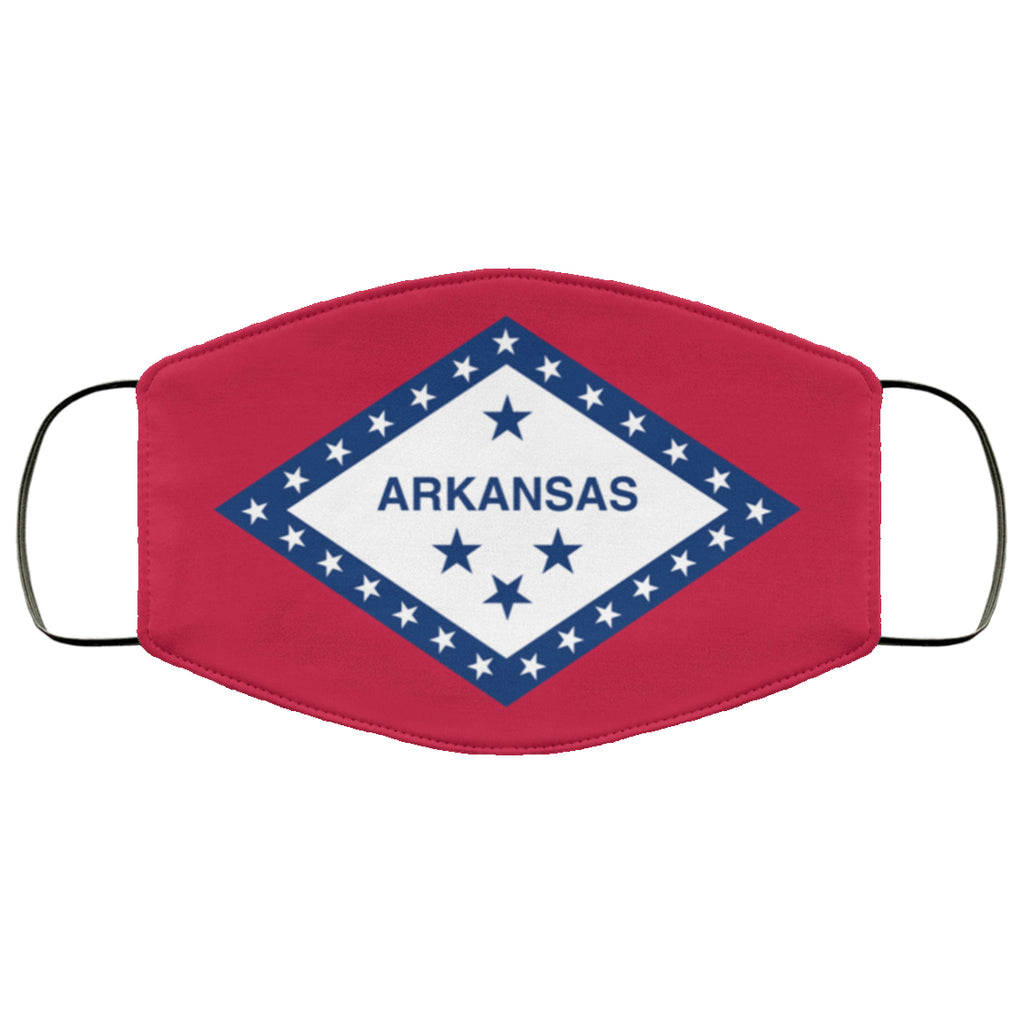 Arkansas State Flag USA Face Mask