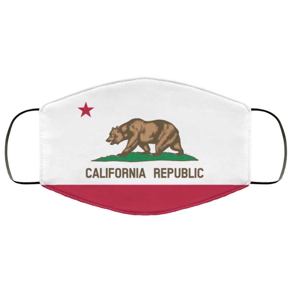 California Flag Face Mask