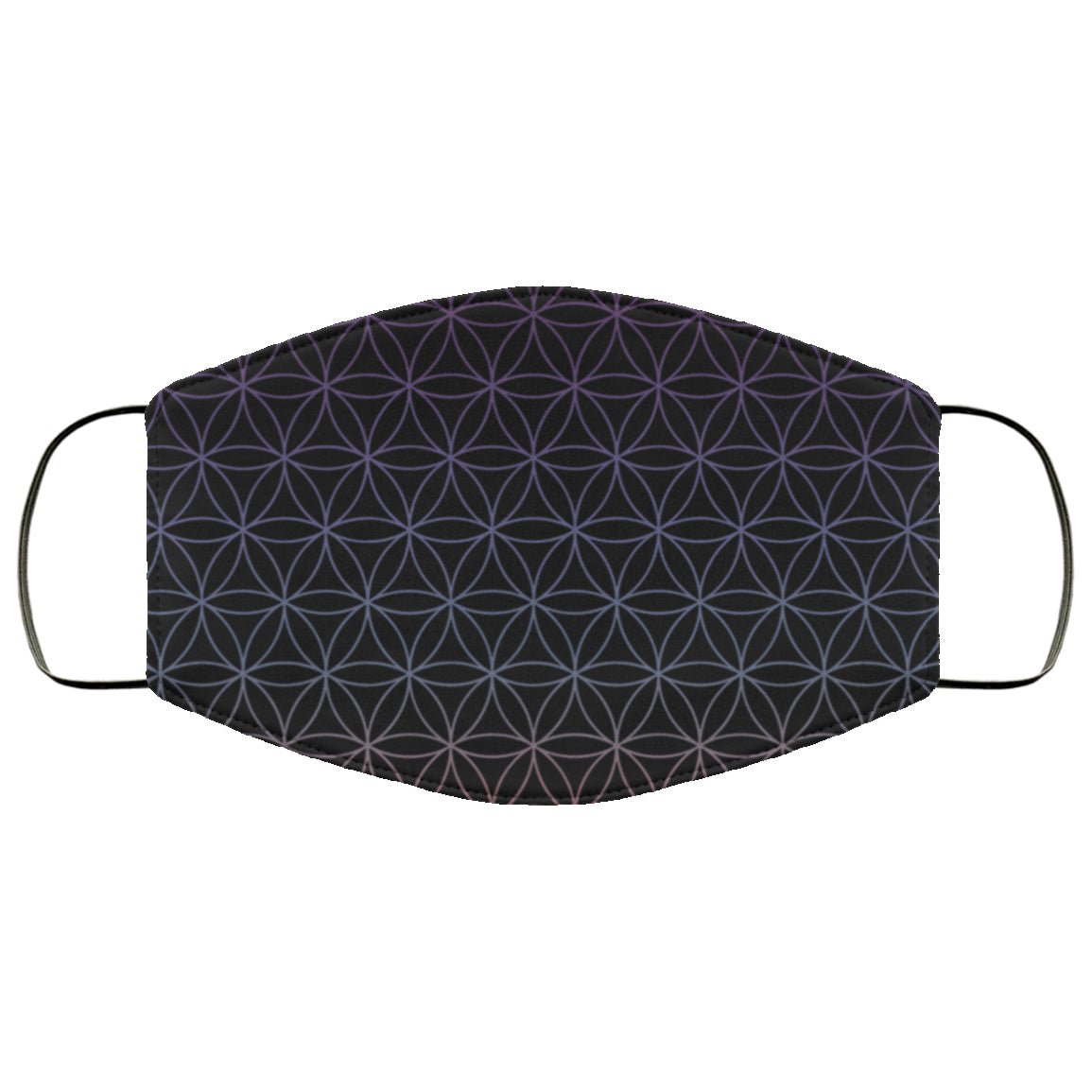 Flower of Life Colorful Pretty Pattern Face Mask