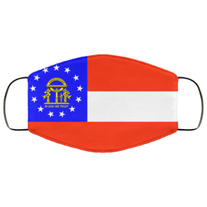 Georgia State Flag USA Face Mask